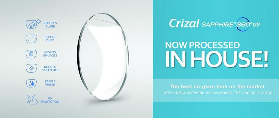image of Crizal Sapphire promotion